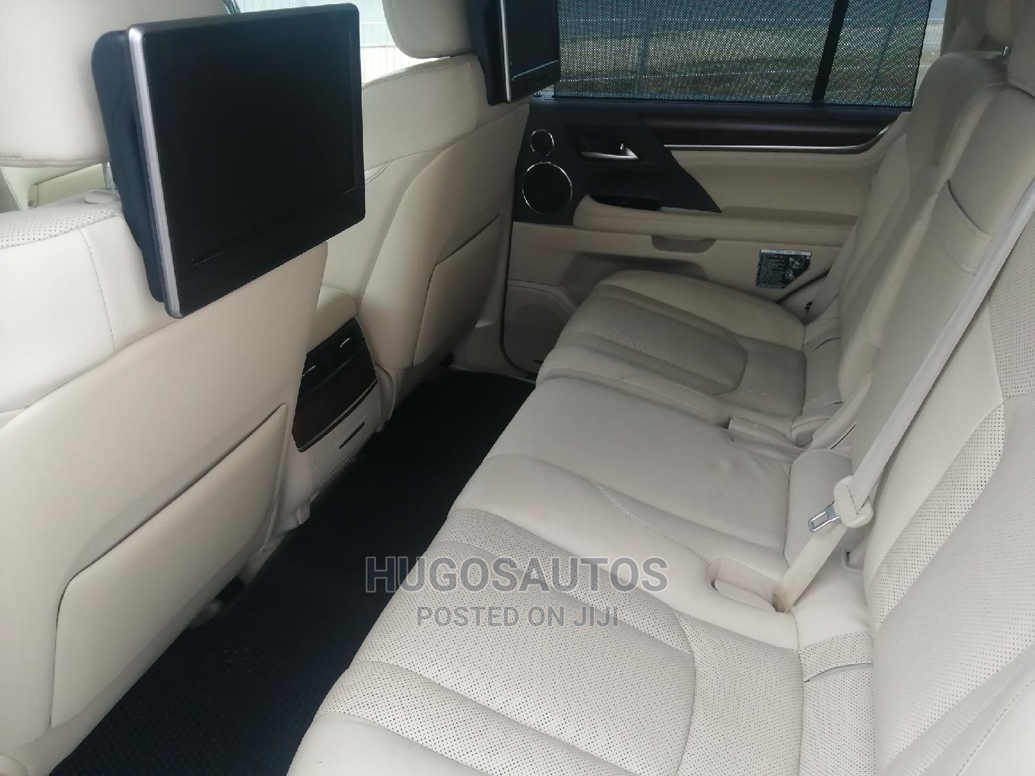 Lexus LX 2016 570 Base Black | Cars for sale in Port-Harcourt, Rivers State, Nigeria