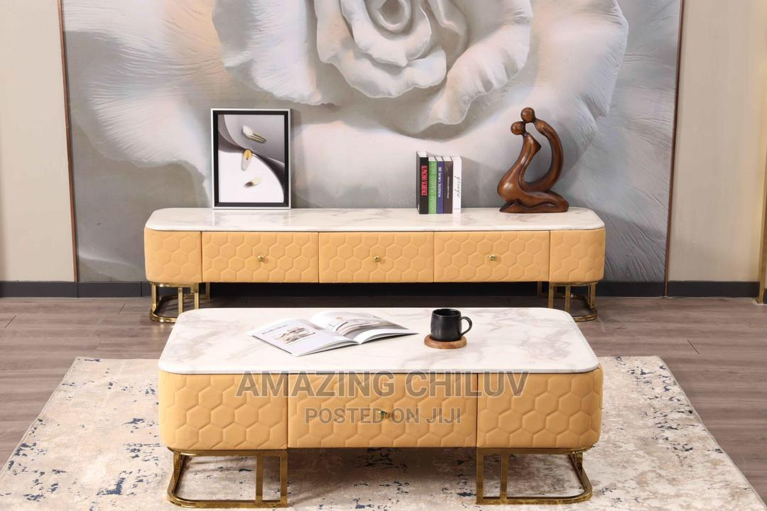 Luxury TV Stand and Table