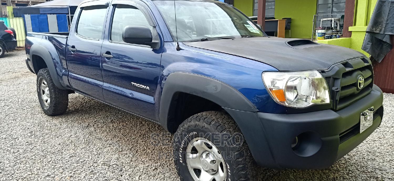 Toyota Tacoma 2008 4x4 Double Cab Blue