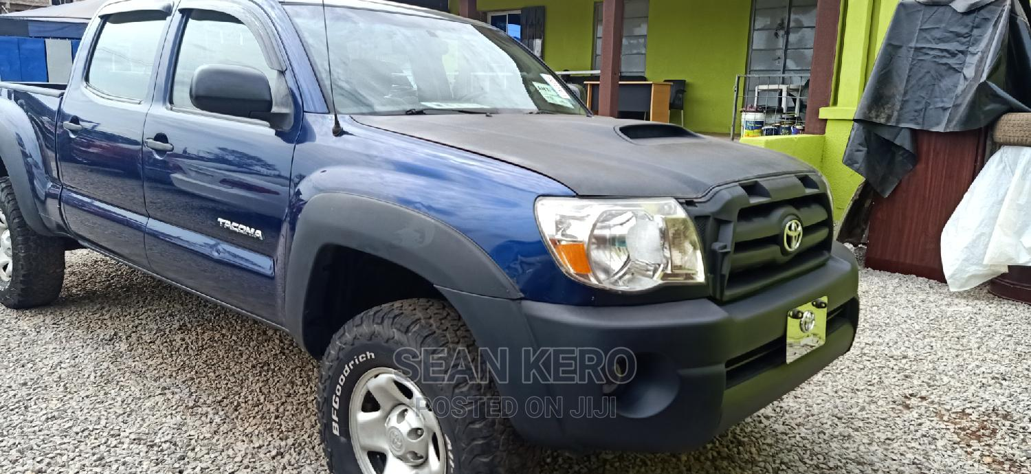 Toyota Tacoma 2008 4x4 Double Cab Blue | Cars for sale in Egbeda, Oyo State, Nigeria