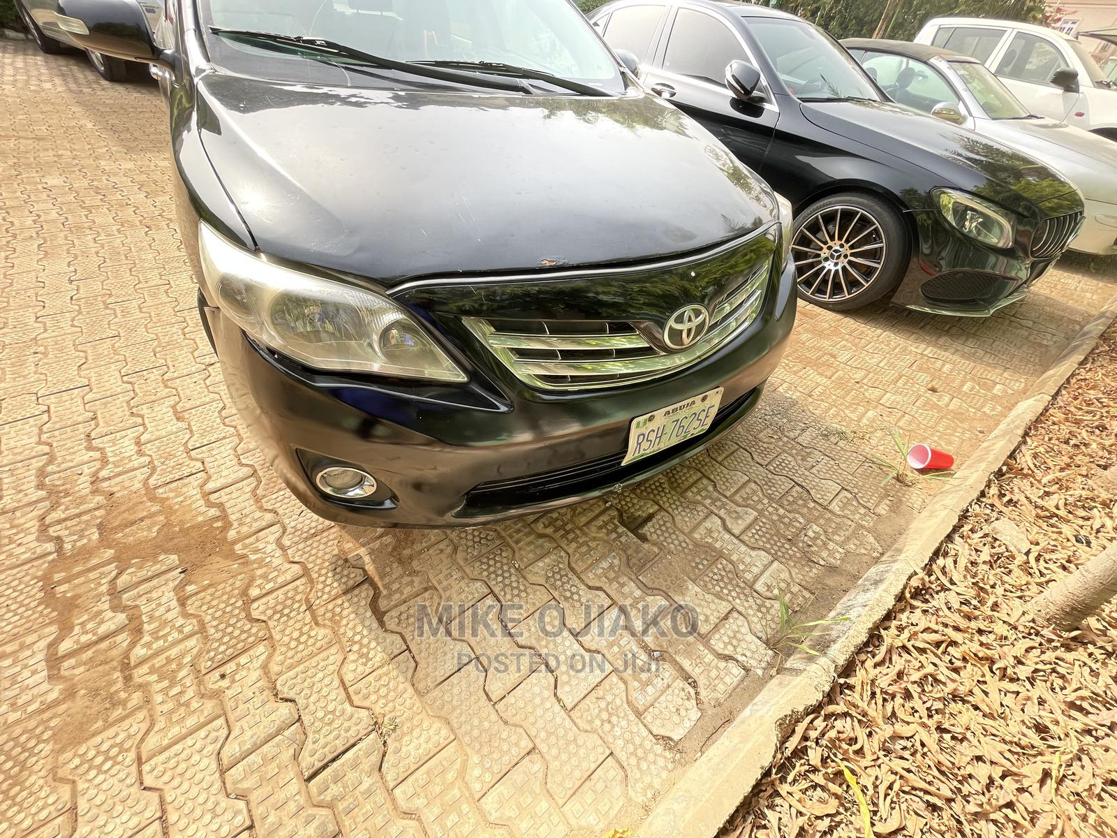 Toyota Corolla 2010 Black   Cars for sale in Wuse, Abuja (FCT) State, Nigeria