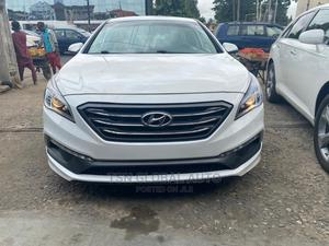 Hyundai Sonata 2016 White | Cars for sale in Lagos State, Lekki