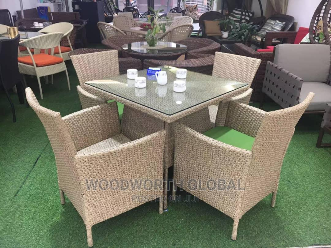 Restaurant Chair and Table Set