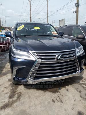 New Lexus LX 2017 570 Base Blue | Cars for sale in Lagos State, Ikeja