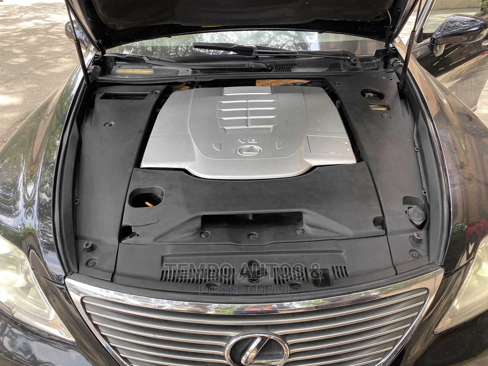 Archive: Lexus LS 2008 Black