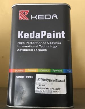 Keda Paint Clear Coat Oil | Building Materials for sale in Oyo State, Ibadan