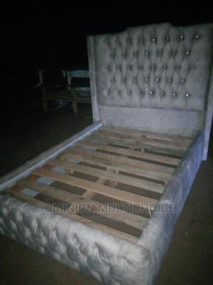 Upholstery Bed 41⁄2by6   Furniture for sale in Lagos State, Lekki