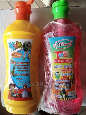 Veet Gold Kids Body Lotion Help Baby Skin Soft and Moisture | Baby & Child Care for sale in Lagos State, Ikeja