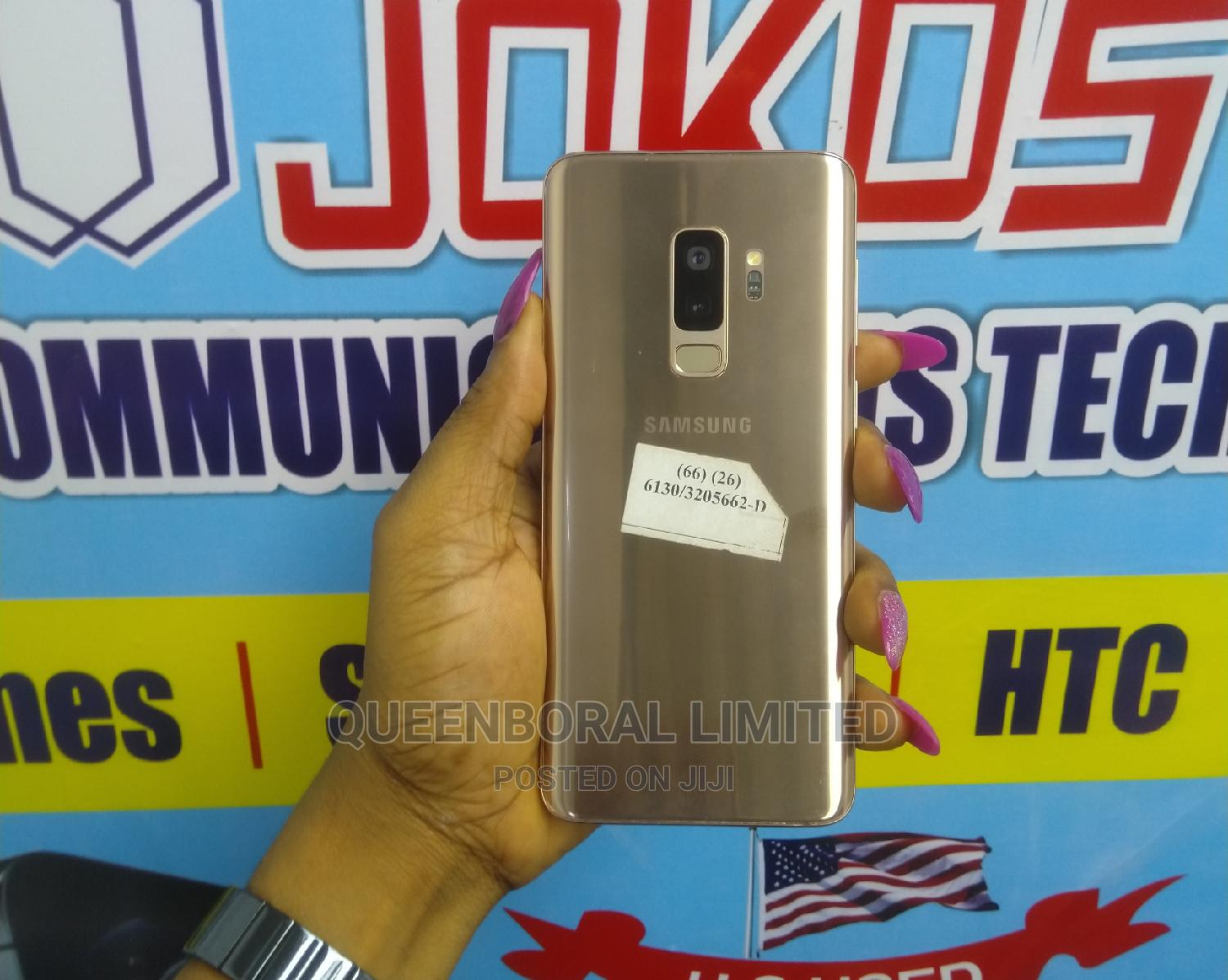 Samsung Galaxy S9 Plus 64 GB Gold | Mobile Phones for sale in Ikeja, Lagos State, Nigeria