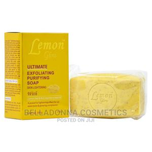 Lemon Glow Ultimate Exfoliating Purifying Soap - 200g   Bath & Body for sale in Lagos State, Ipaja