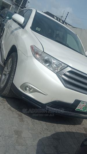 Toyota Highlander 2013 Limited 3.5L 2WD White | Cars for sale in Lagos State, Lekki