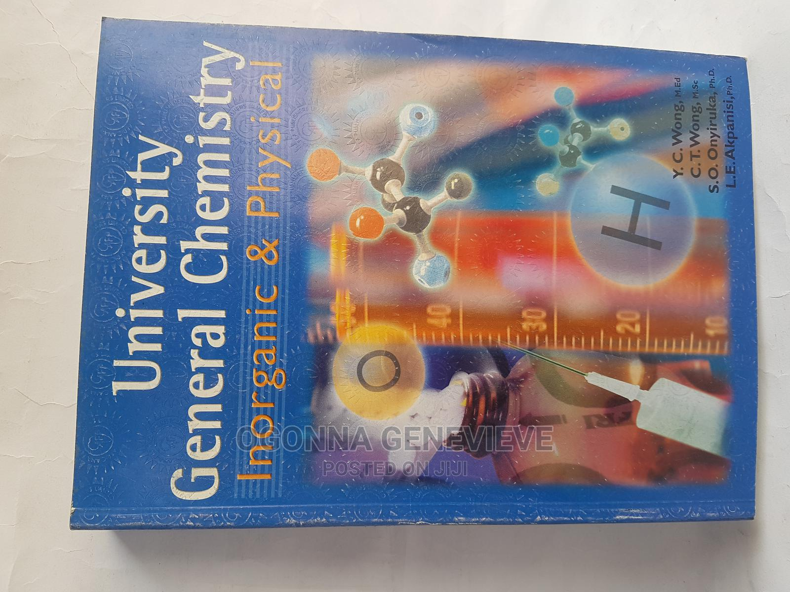 University General Chemistry.Inorganic and Physical