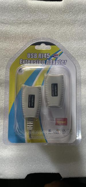 USB RJ45 Extension Adapter   Accessories & Supplies for Electronics for sale in Lagos State, Yaba
