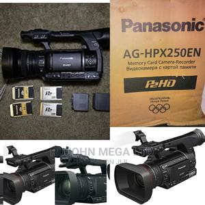 Panasonic AG-HPX250 P2 HD Handheld Camcorder | Photo & Video Cameras for sale in Lagos State, Ojo