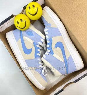 Nike Air Jordan 1 Mid Sail Sneakers | Shoes for sale in Lagos State, Lagos Island (Eko)