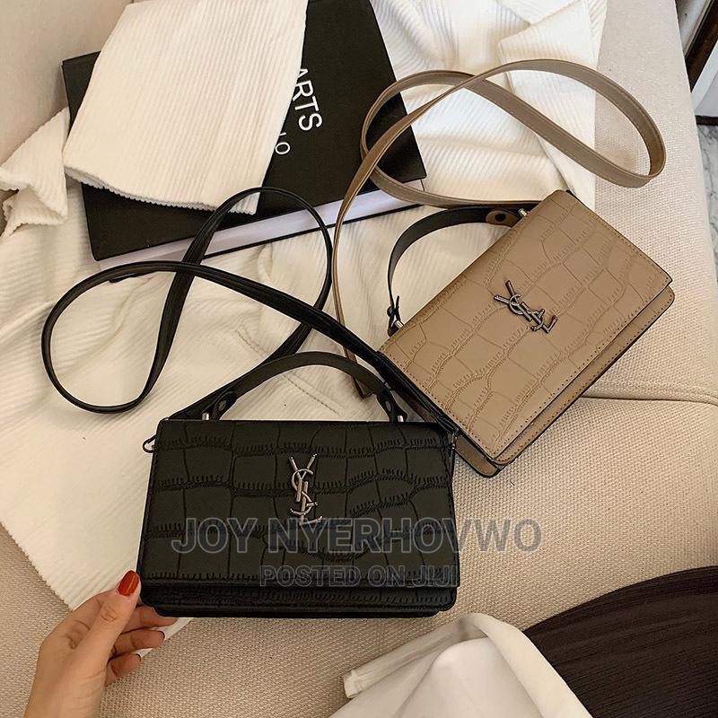 YSL Original Leather Shoulder Bag