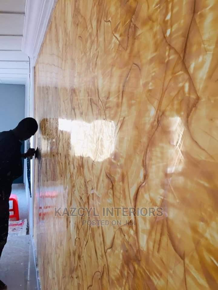 Stucco Marble Effect Painting