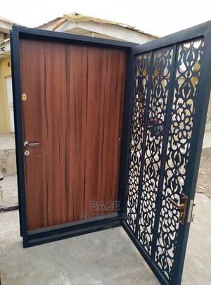Lasercut Double Panel Security Door | Doors for sale in Oyo State, Ibadan