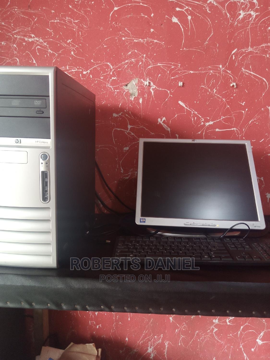 Desktop Computer HP 2GB Intel Core 2 Duo HDD 500GB | Laptops & Computers for sale in Uvwie, Delta State, Nigeria