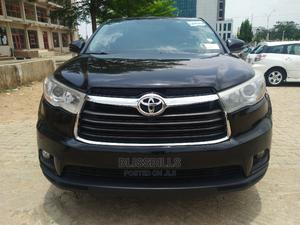 Toyota Highlander 2015 Black   Cars for sale in Abuja (FCT) State, Central Business District
