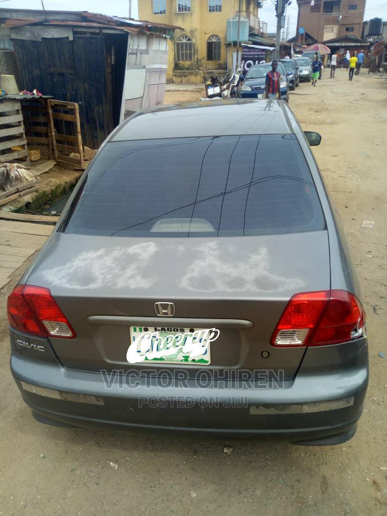 Honda Civic 2005 1.4i LS Gray   Cars for sale in Kosofe, Lagos State, Nigeria