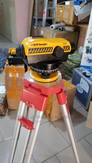 CST / Berger Auto Level With Tripod (5m) Levelling Staff   Measuring & Layout Tools for sale in Oyo State, Ibadan