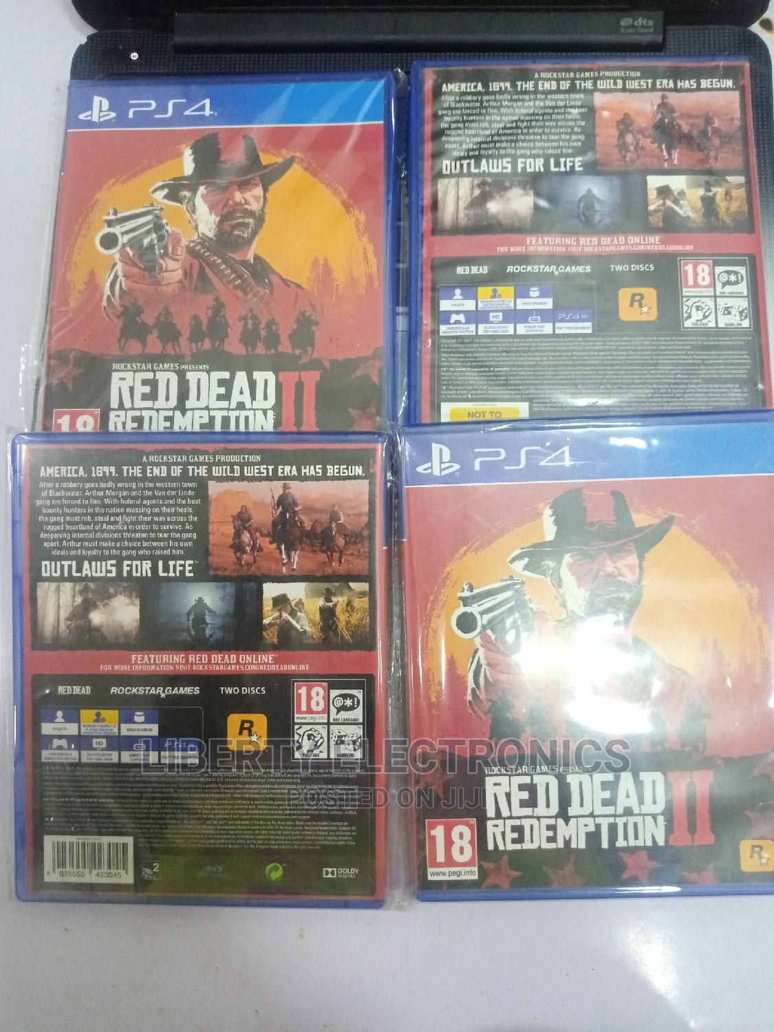 Promo Red Dead Redemption 2.