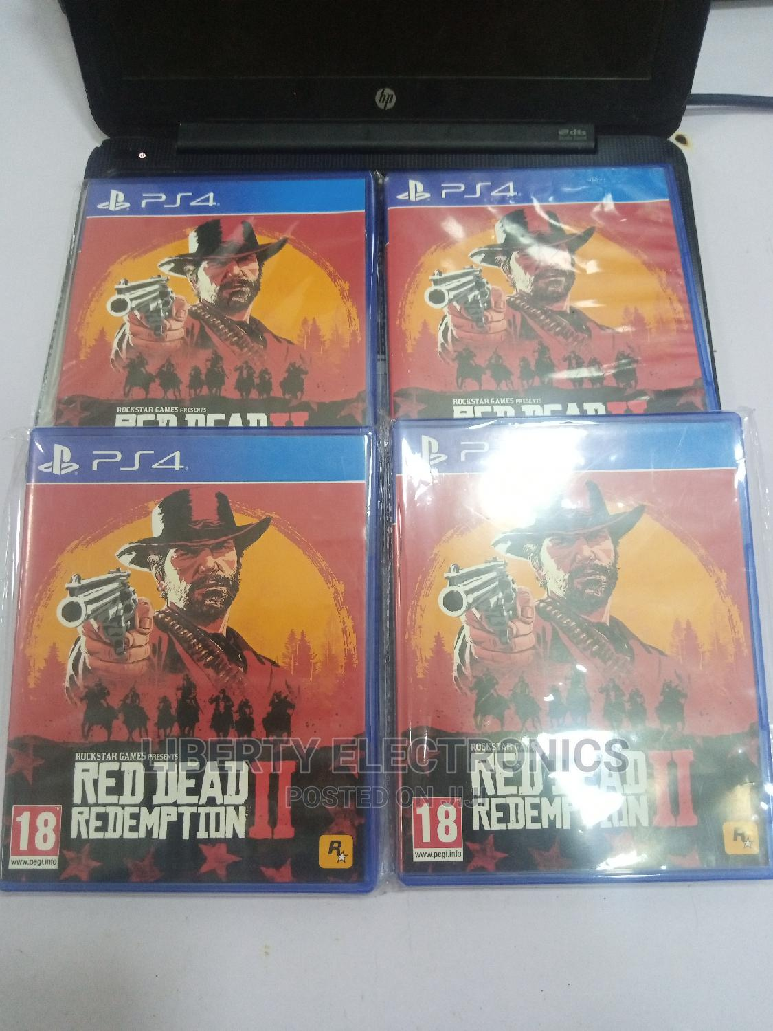 Promo Red Dead Redemption 2. | Video Games for sale in Wuse 2, Abuja (FCT) State, Nigeria