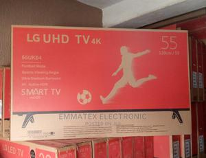 LG UHD 55 Inches Tv 4K   TV & DVD Equipment for sale in Lagos State, Ajah