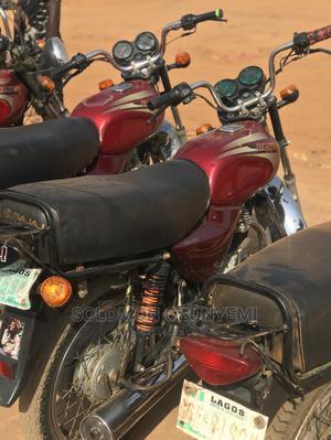 Bajaj Boxer 2018 Red   Motorcycles & Scooters for sale in Lagos State, Ikorodu