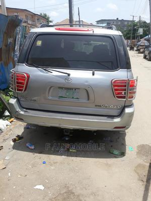 Toyota Sequoia 2002 Silver | Cars for sale in Lagos State, Yaba