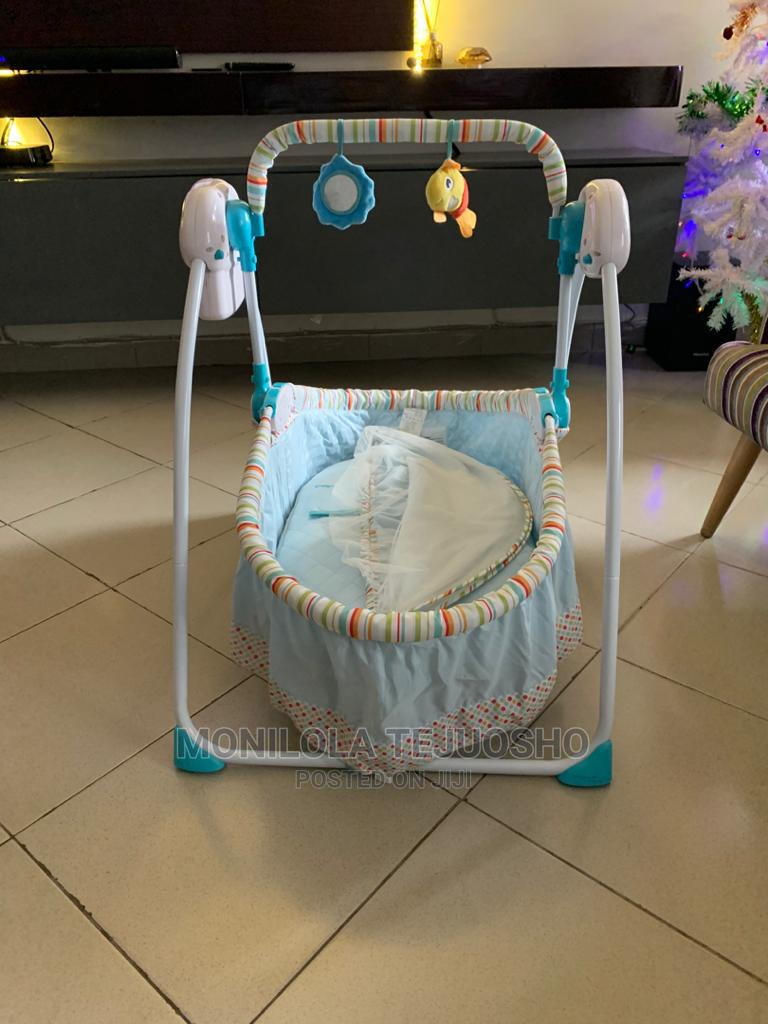 Archive: Electric Baby Crib Swing