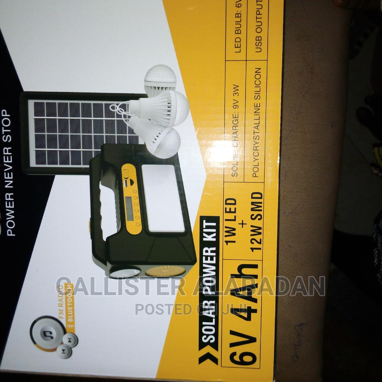 Solar Kit With 3 Bulbs