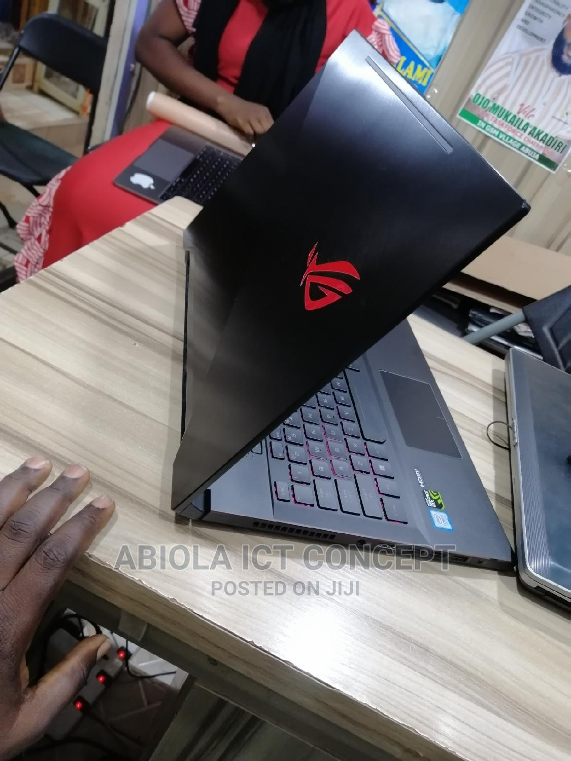 Laptop Asus ROG Zephyrus M (GM501) 16GB Intel Core I7 SSHD (Hybrid) 1T | Laptops & Computers for sale in Wuse, Abuja (FCT) State, Nigeria