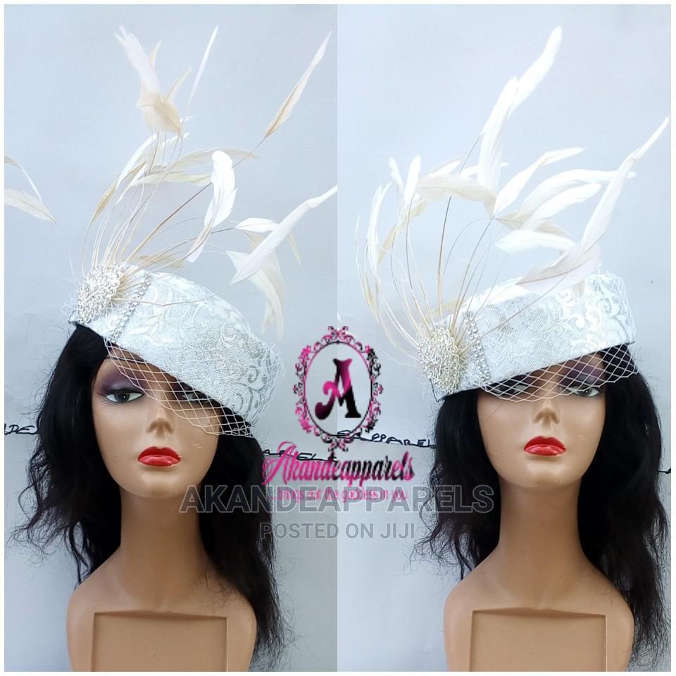 Silver White Crown Fascinator | Clothing Accessories for sale in Ikorodu, Lagos State, Nigeria