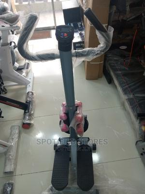 Brand New Standing Stepper With Twister and Dumbbell | Sports Equipment for sale in Lagos State, Surulere
