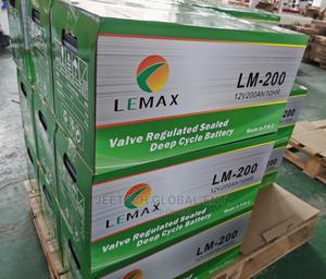 Lemax 200ah Inverter Battery | Home Appliances for sale in Abuja (FCT) State, Wuse 2