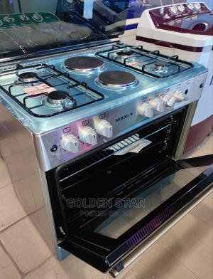 Quality Maxi Standing ( 4 by 2 )Gas Cooker + Oven + Ignition | Kitchen Appliances for sale in Lagos State, Ojo