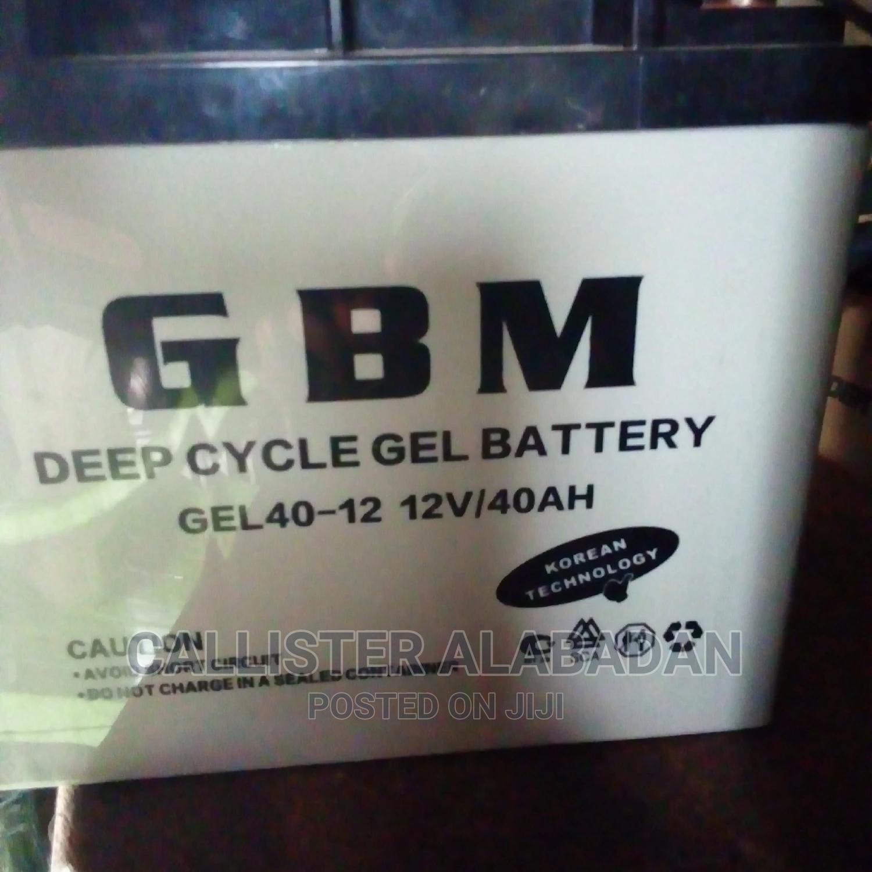 12v/40mah GBM Battery