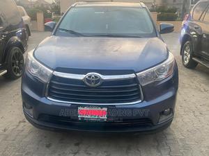 Toyota Highlander 2015 Blue | Cars for sale in Lagos State, Lekki