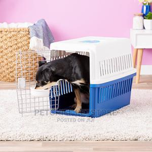 Deluxe Travel Dog Cat Kennel Carrier Medium   Pet's Accessories for sale in Lagos State, Lekki