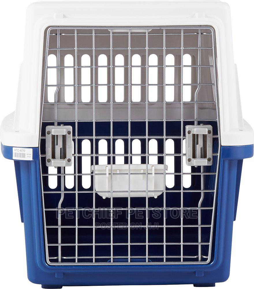 Archive: Deluxe Travel Dog Cat Kennel Carrier Medium