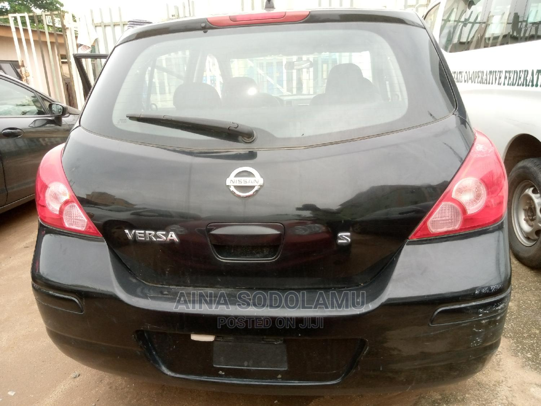 Nissan Versa 2007 Black   Cars for sale in Ikeja, Lagos State, Nigeria