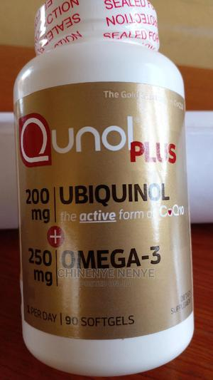Ubiquinol. 200mg + 250mg Omega-3. 90 Softgel | Vitamins & Supplements for sale in Lagos State, Kosofe