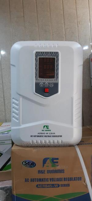 A E Dunamis 12kva Central Stabilizer Wall Mount 45v-280v | Electrical Equipment for sale in Lagos State, Amuwo-Odofin
