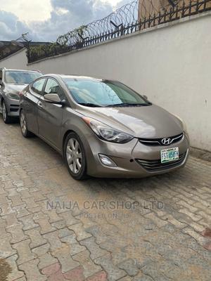 Hyundai Elantra 2013 Brown   Cars for sale in Lagos State, Ikeja