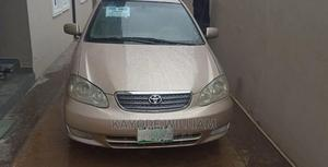 Toyota Corolla 2003 Gold   Cars for sale in Lagos State, Alimosho
