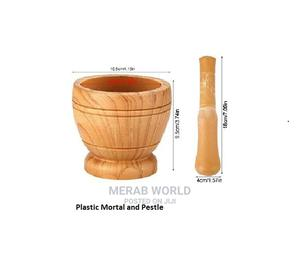 Spices Herbs Mortar Pestle Set | Kitchen & Dining for sale in Lagos State, Ojodu