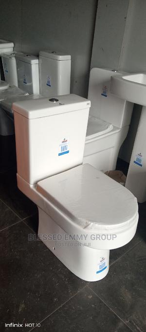 Authentic WC With the Wash Hand Basin and Pedestal | Plumbing & Water Supply for sale in Lagos State, Orile
