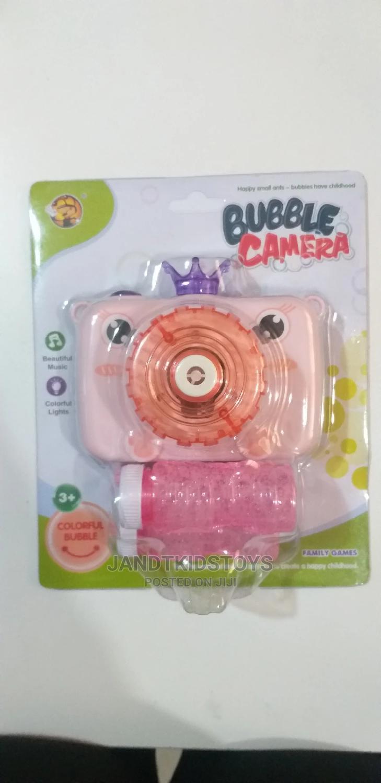 Bubble Camera Toy